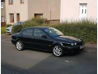 MINT BLACK JAG V6 red seats