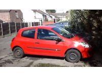 Red Clio, Good Condition, Extremely Low Mileage!