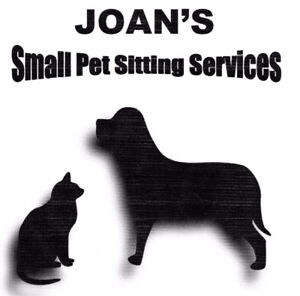 Joan's Small Pet Sitting Services