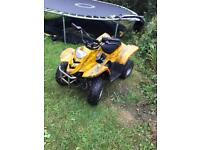 Quad bike 50cc Auto kids quad leaner like lt 50 Suzuki pit bike