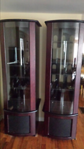TV wall unit stands