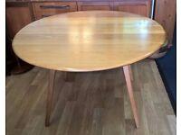 Vintage Retro Ercol Drop Leaf Dining Table