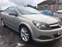 All major credit debit cards accepted - Vauxhall Astra 2.0 TURBO Design Twin Top MOT 04/01/2018