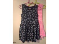 2x girls dresses