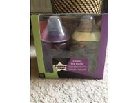 Tommee Tippee colour my world bottles