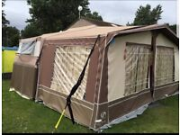 Penine Sterling folding camper 2011 and awning