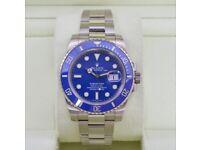 Rolex Submariner Date Blue SW2836