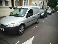 2007 Vauxhall Combo Crew Cab 5 seater van MOT until April 2018
