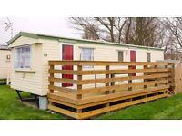 Holiday caravan Leysdown-on-sea to rent 19th of August 6 nights