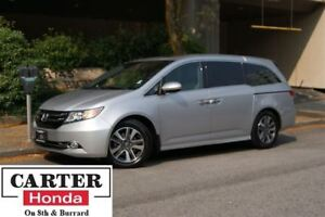 2014 Honda Odyssey Touring + ACCIDENT FREE + 8 SEATS + CERTIFIED