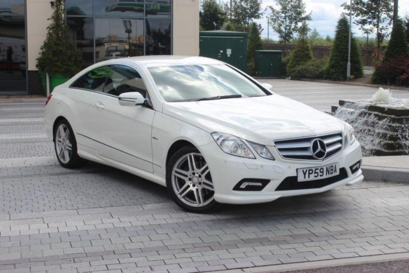 2009 59 MERCEDES-BENZ E CLASS E350 CDI BLUEEFFICIENCY SPORT 3.0 2D AUTO DIESEL