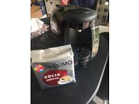 Gassion coffee machine with 16 coffee disks