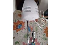 Russell Hobbs Food Collection Hand Mixer with 6 Speed 14451, 125 W - White