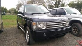 Range rover hse low mileage