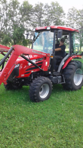 MAHINDRA 5010 HST CAB TRACTOR AND LOADER