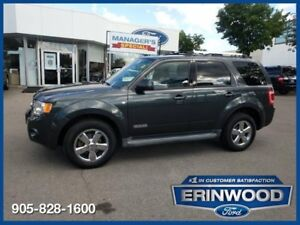 """2008 Ford Escape Limited6CYL/LTHR/PROOF/17"""" CHROME WHLS"""