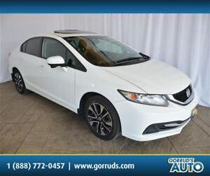 2014 Honda Civic EX/HEATED SEAT/SUNROOF/CAMERA/BLUETOOTH/NEW TIR