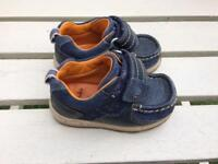 Boys clarks shoes size 4f