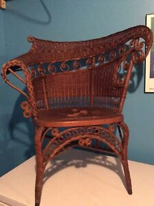 Early 1900 wicker/cane chair