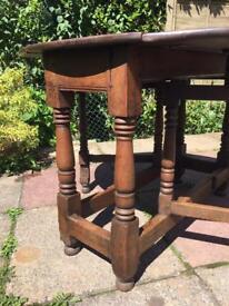 Antique Georgian gate leg table
