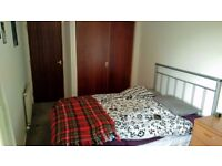 Spacious double room in a very quiet and well located flat