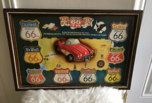 Anniversary Highway 66 Wood Plaque!