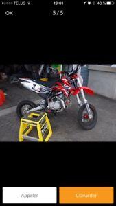 Recherche pit bike 110cc et plus