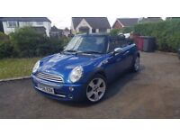 Mini Convertible, 1.6l Petrol, very low mileage!
