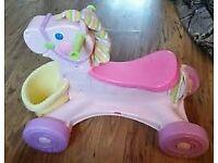 Fisherprice musical pony