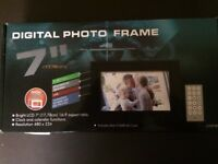 Brand new, boxed, digital photo frame