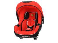 Brand new Ferrari car seat