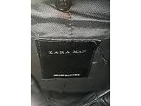 Zara authentic leather jacket £80 RRP Small/Medium