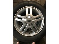 Wheels tyres hubcaps