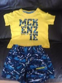 McKenzie baby outfit swim shorts trunks jd sports adidas postage available