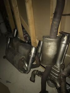 G35 350z stock y pipe and muffler