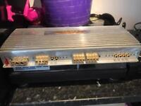 Genesis high end five channel amp,hand made in England