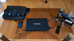 Ensemble ordinateur Toshiba i5 avec dvd/bluray recorder