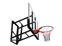 Basketball Backboard - Height Adjustable - New Assembled for a Photo Shoot
