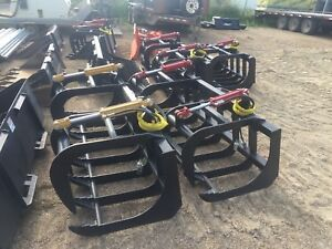 Brand new HD grapple buckets