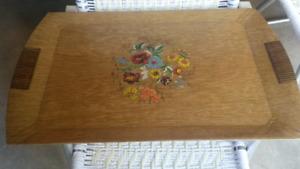Hasko Large Wood Tray