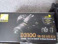 Nikon D3100 Digital SLR Camera with 18-55mm VR Lens Kit BOXED