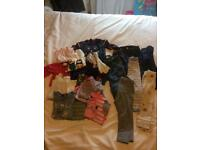 Large bundle of baby Girls clothes 12-18 and 18-24 months. 38 items