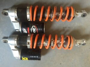 Rear shock assembly for KTM85SX
