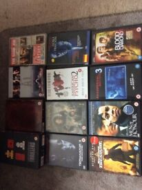 Collection of 99 mixed DVD's