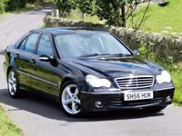 (2006) ★ MERCEDES C220 CDI AVANTGARDE SE AUTO ★ FULL LEATHER - FULL SERVICE HISTORY - TOP SPEC