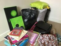 A large bundle of quality car boot items