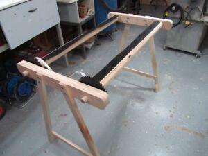 Mat hooking frame