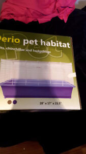 Large pet cage never taken out of box