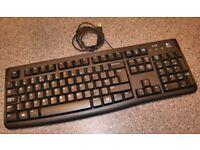 Logitech K120 USB keyboard - Black