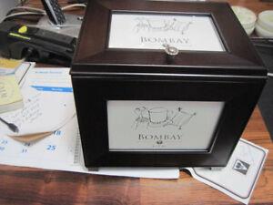 Bombay Company photo storage box